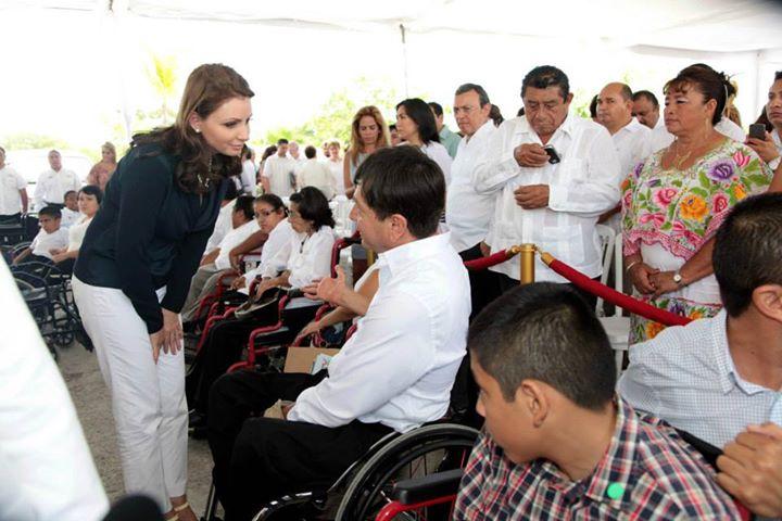 santiago y primera dama